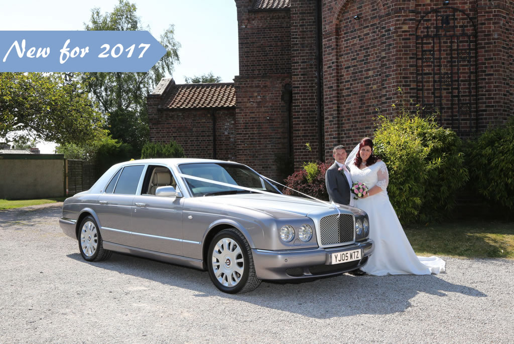 Bentley Arnage wedding car for special occasions
