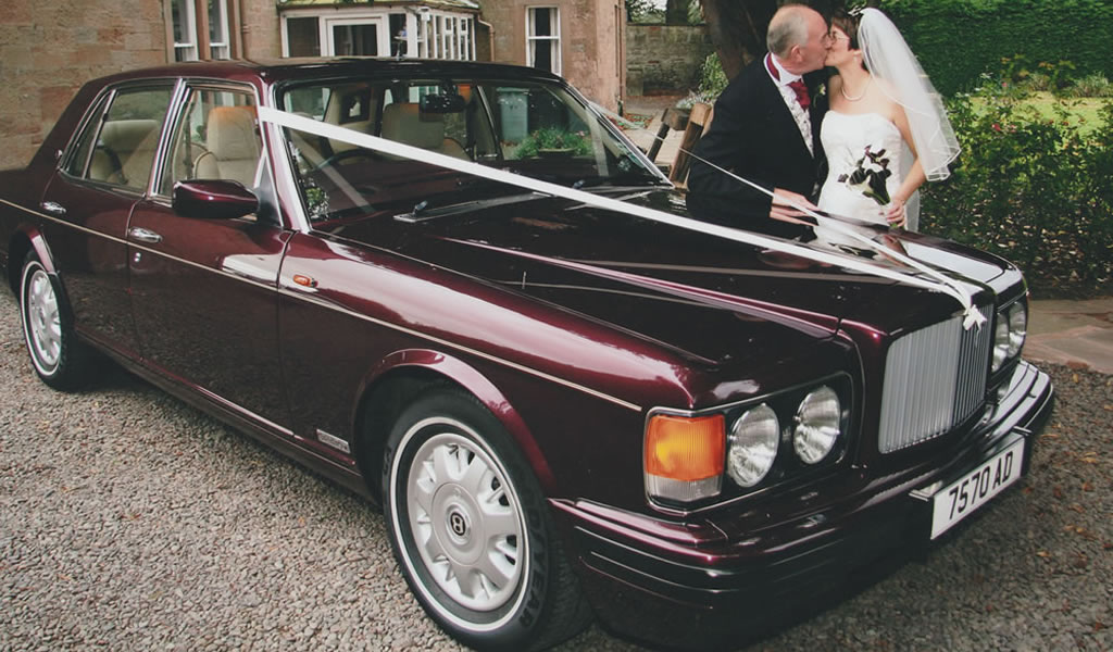 Bentley wedding car for special occasions