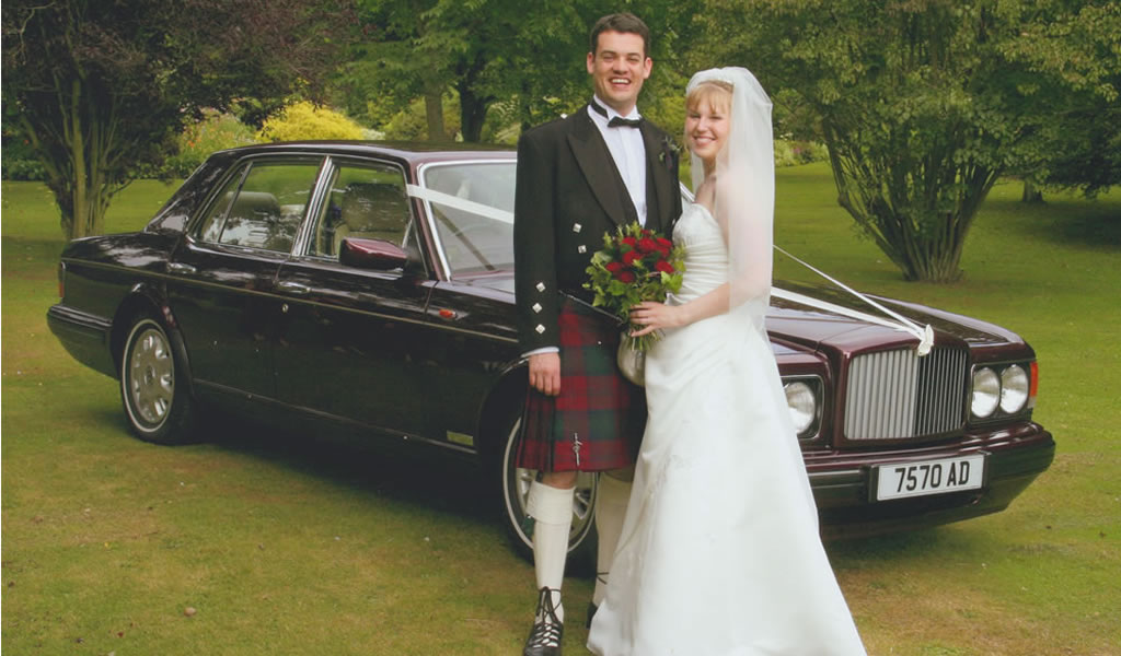 Bentley wedding car for your special occasion
