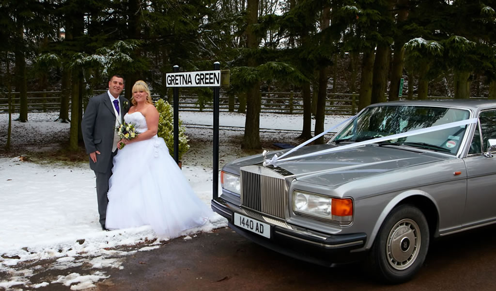 Rolls Royce Silver Spirit wedding car for your special occasion
