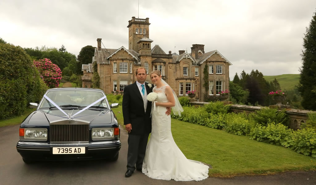 Rolls Royce Spur for Scottish Castle Weddings