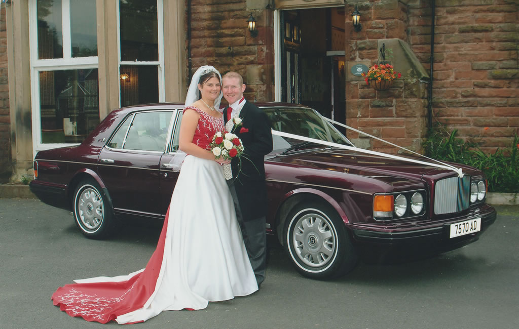 Willowgrove wedding cars for your Gretna Wedding day